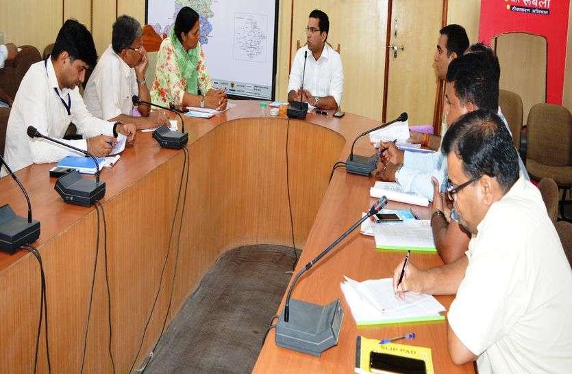 गवर्निंग कमेटी की बैठक में विभिन्न विकास कार्यों पर चर्चा
