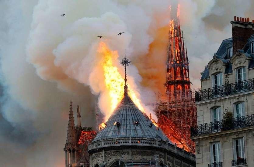 Notre Dame fire