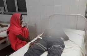 धमकी के बावजूद लाये दुल्हन का गौना तो मां-बेटे पर किया तेजाब से हमला, पहले फूंका घर फिर फेंका एसिड