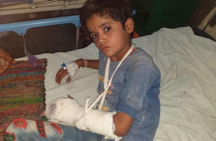 बीकानेर : खेल-खेल में कुल्हाड़ी से बच्चे की अंगुलियां कटी