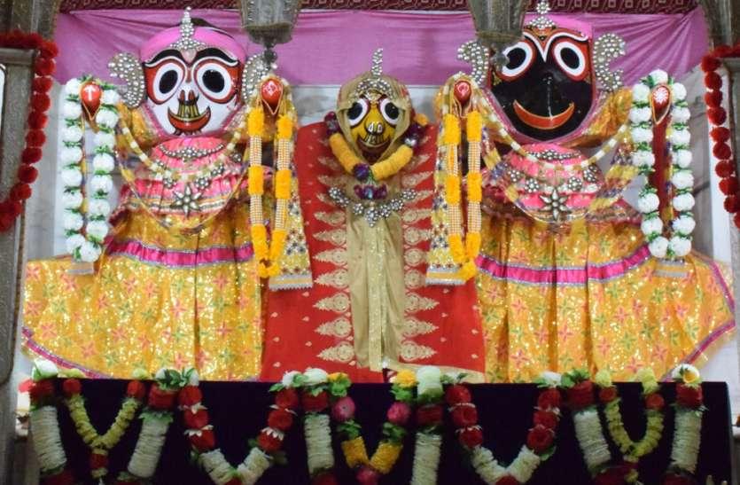 रथयात्रा महोत्सव की व्यवस्था देखने अधिकारी पहुंचे जनकपुर मंदिर