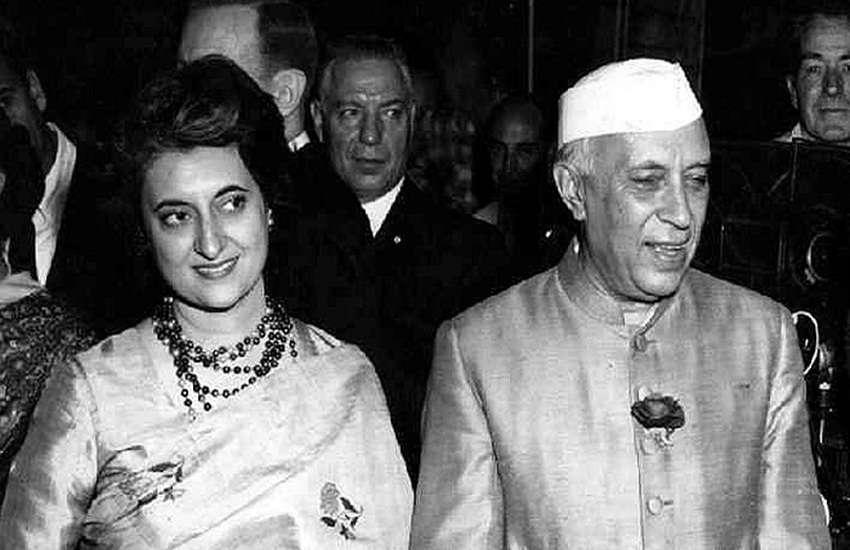 Nehru-Indira
