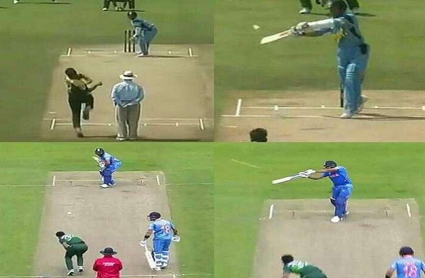 रोहित शर्मा ने पाकिस्तान के खिलाफ जड़ा ऐसा छक्का, सबको आ गई सचिन तेंदुलकर की याद