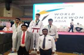 सागर थापा ने इंटरनेशनल ताइक्वांडो प्रतियोगिता में जीता गोल्ड