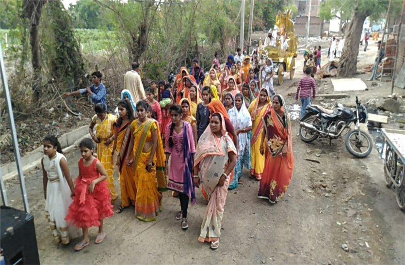 video: धूमधाम से मनाई कबीर जयंती, निकाली शोभायात्रा