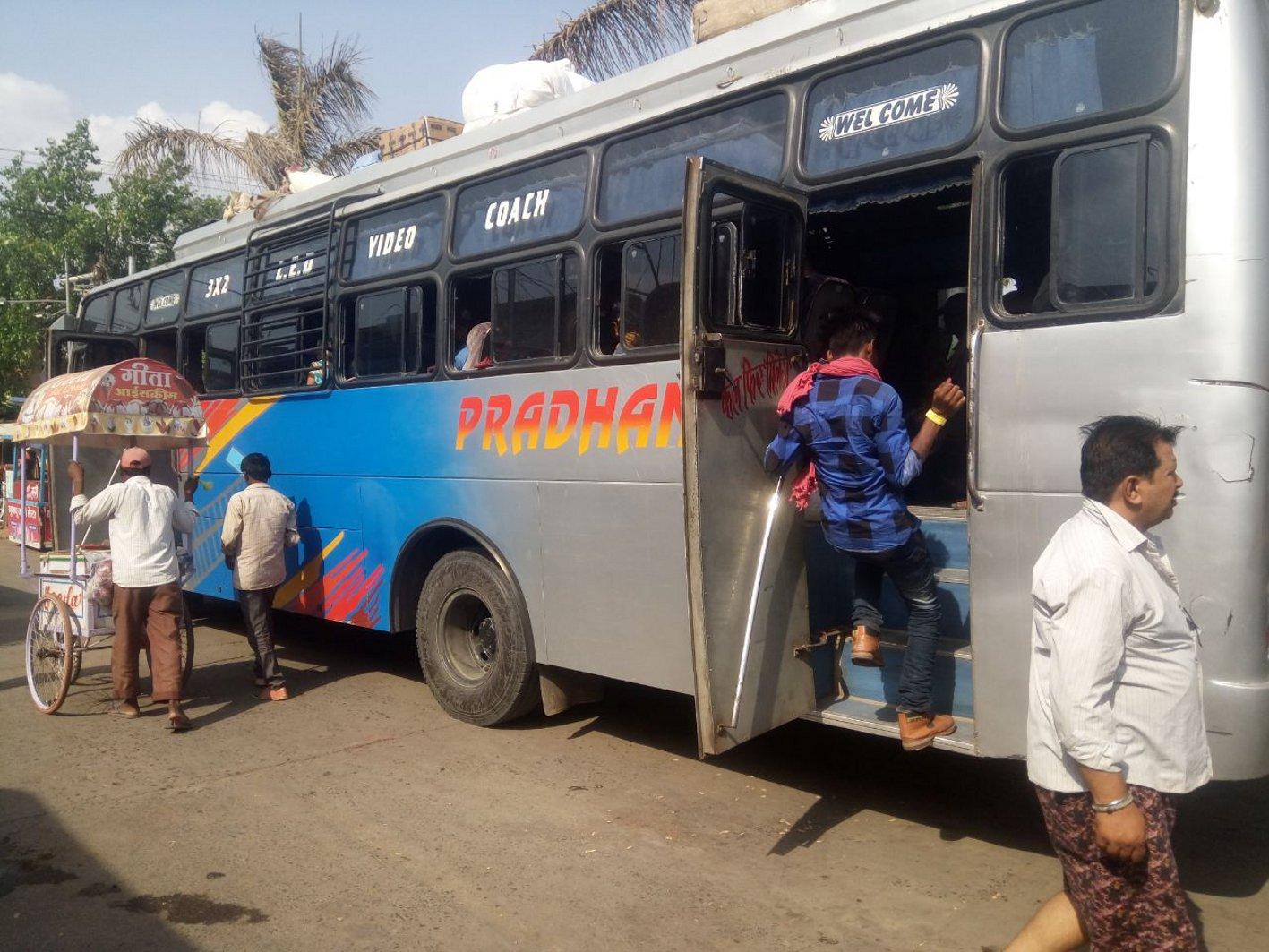 बसों में नहीं है दिव्यांगों के लिए रैंप की व्यवस्था