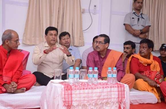 Ambubachi Mela 2019: Assam CM सोनोवाल ने अंबुबाची मेले की तैयारियों का लिया जायजा