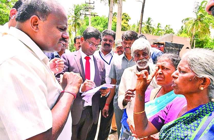 मुख्यमंत्री के जनता दर्शन में पहुंचे लोगों को जेबकतरों ने बनाया निशाना