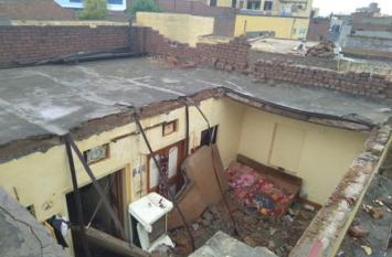 Pre Monsoon 2019: फतेहाबाद में काल बनकर बरसी बारिश, घर की छत गिरने से सात साल की बच्ची की मौत, सात घायल