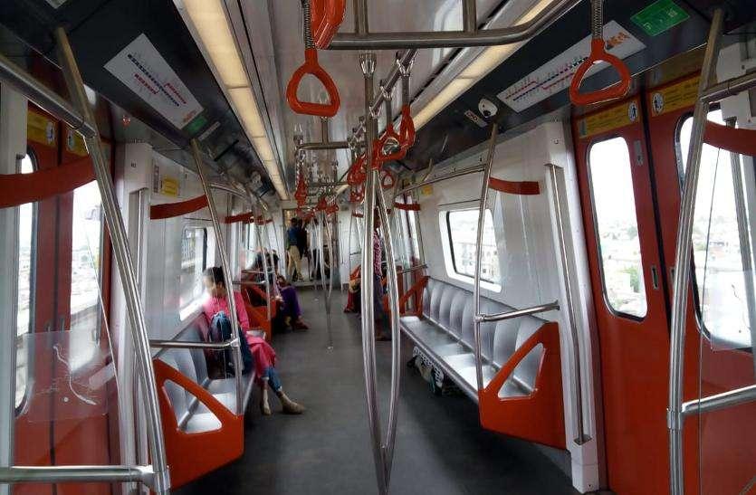 छह स्टेशनों पर दौड़ती मेट्रो, अभी बन ही रहे हैं दो स्टेशन