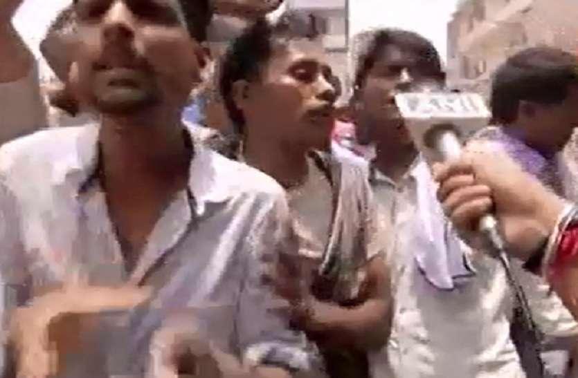 VIDEO- मुजफ्फरपुर में सीएम को देख लगे नारे, नीतिश कुमार गो बेक..