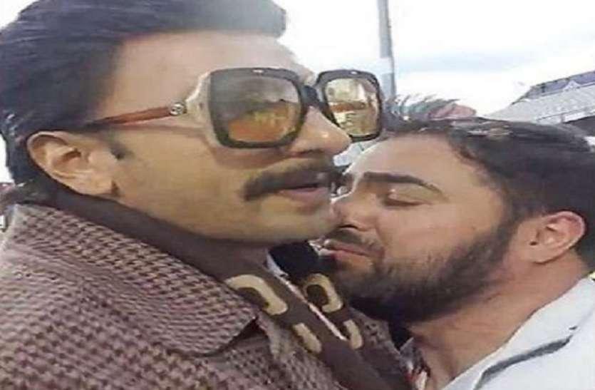 हार के बाद ये निराश फैन लगा रणवीर सिंह के गले, वीडियो हुआ वायरल