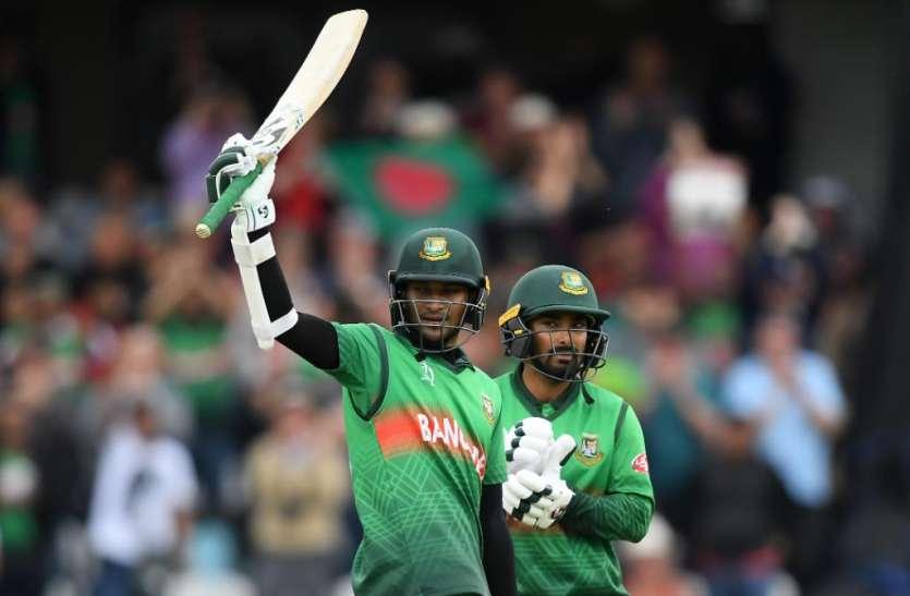 World Cup 2019: शाकिब अल हसन बने सबसे ज्यादा रन बनाने वाले पहले बल्लेबाज, फिंच को पछाड़ा