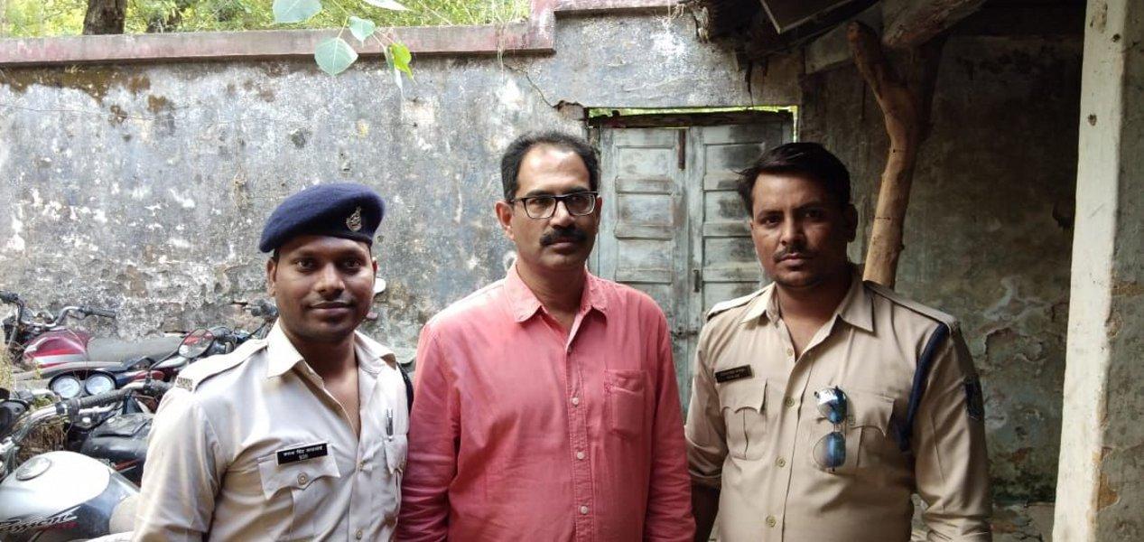 आजाक जिला संयोजक हत्याकांड का मास्टरमाइंड पीडब्ल्यूडी अधिकारी गिरफ्तार