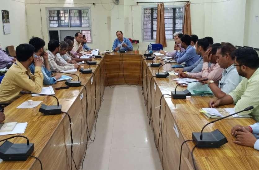 श्योपुर में सरपंचों पर होगी धारा 40 की कार्यवाही, सचिव और जीआरएस भी नपेंगे