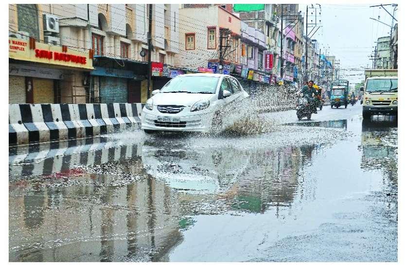 अलसुबह से तेज बारिश ने मौसम में घोली ठंडक, मौसम विभाग ने दी ये खुशखबर