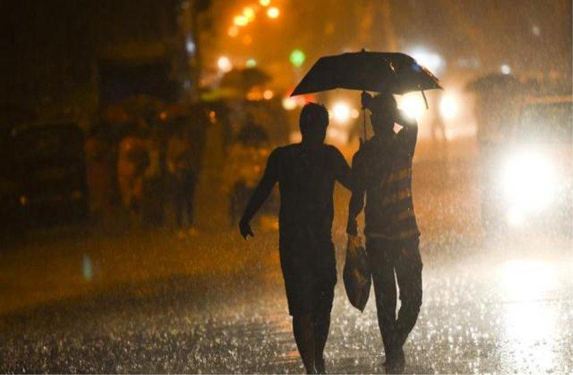 मौसम सुहावना : प्री-मानसून में झमाझम....एक इंच से अधिक बरसा