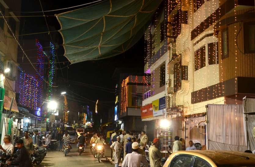 सैयदना साहब की आमद पर रोशन हुआ शहर, वाअज के बाद समाज के घरों में जाएंगे मौला