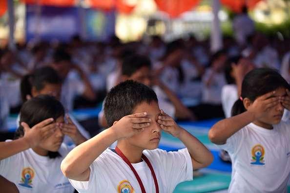 Yoga day at Nepal