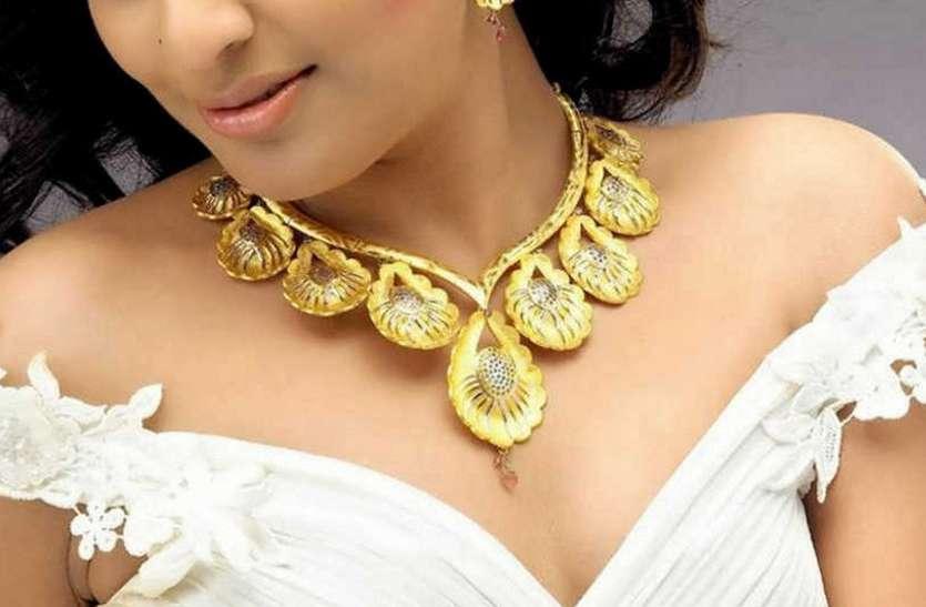 gold polished jewellery का बढ़ा trend
