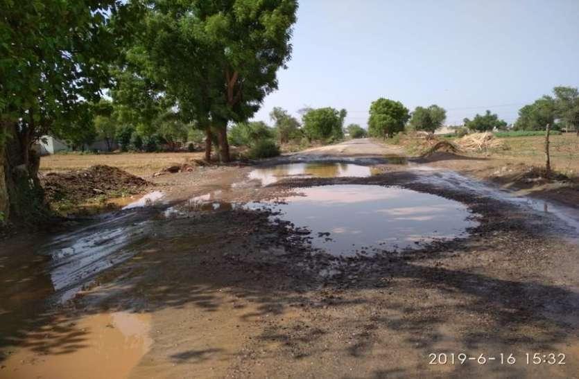 बर्डोद-शाहजहांपुर रोड की खस्ता हाल पर कई अधिकारियों को न्यायालय ने तलब किया