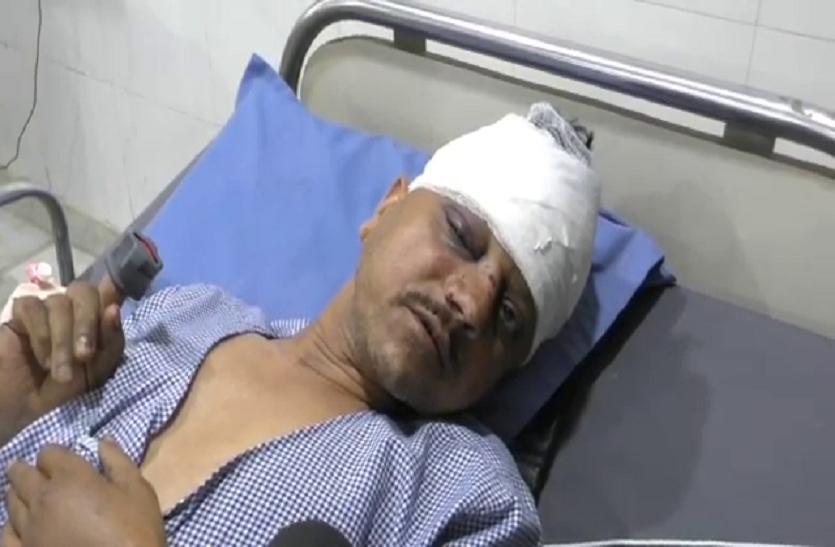 अवैध वसूली का विरोध करने पर पत्रकार पर हमला, हालत गंभीर
