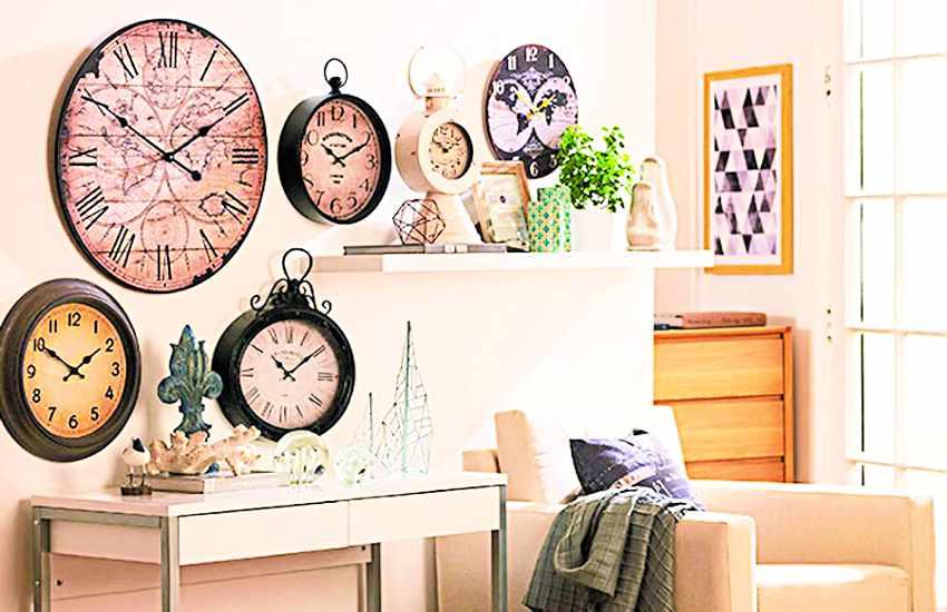 वॉच डे : घड़ी ऐसीं, जो घरों की सजावट में भी लगा रही हैं चार चांद