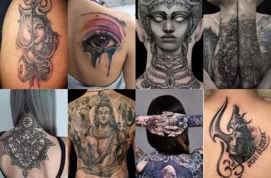 फैशन व स्टेट्स का सिंबल बने टैटू, युवाओं में धार्मिक टैटू का बढ़ा क्रेज, देखें ऐसे बनाते है टैटू..