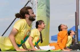 अमरीका को योग सिखा रहे अजमेर के योगाचार्य