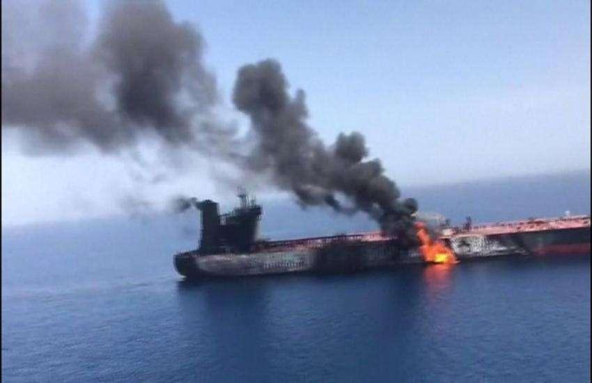 तेल टैंकरों पर हमला