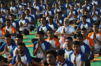 International Yoga Day 2019:Yoga For Heart थीम पर रांची में हजारों लोगों के साथ योग करेंगे प्रधानमंत्री Modi,तैयारियां पूरी