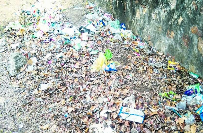 VIDEO रणथम्भौर: होटलो में नहीं कचरा निस्तारण के इंतजाम