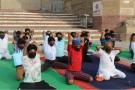 अंतर्राष्ट्रीय योग दिवस पर बनारस में मास्क लगा कर होगा योगाभ्यास