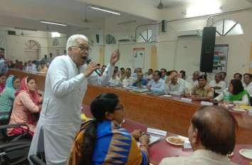 ऐसा क्या हुआ कि सूरतगढ़ विधायक को बोलना पड़ा कि तो इस्तीफा दे दूंगा