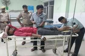 25 हजार का इनामी नरेन्द्र मुठभेड़ में गिरफ्तार, पैर में लगी गोली