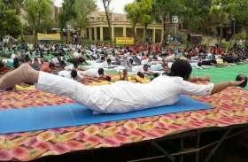 अंतर्राष्ट्रीय योग दिवस : जीवन में अपनाएं योग, रहे निरोग