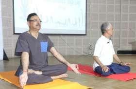 रेनबो हॉस्पटिल में International Yoga Day पर किया गया बड़ा काम
