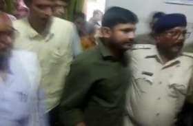चमकी बुखारः CPI नेता कन्हैया का SKMCH में कड़ा विरोध, बोले- ये प्रार्थना का वक्त
