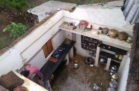 मानसून की दस्तक : हवा तूफान में उड़ गए छप्पर