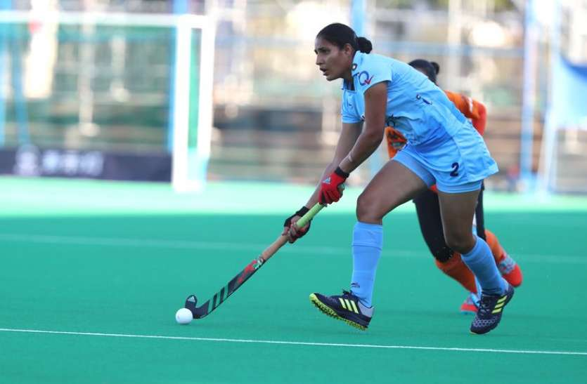 भारतीय महिला हॉकी टीम ने हासिल की ओलम्पिक क्वालीफायर-2019 में खेलने की योग्यता