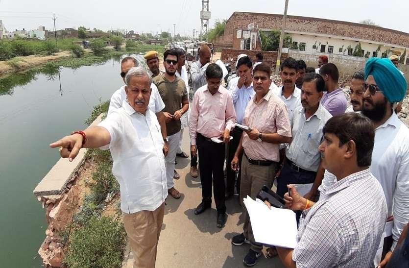 Bharartur news: शहर भ्रमण के दौरान किस पर नाराज हुए चिकित्सा राज्यमंत्री...
