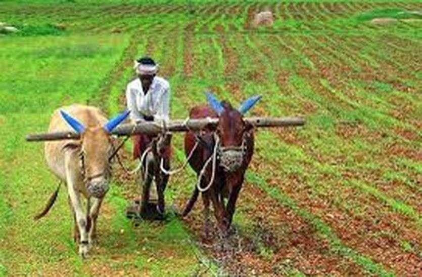 उधार के भवन से कृषि विस्तार!