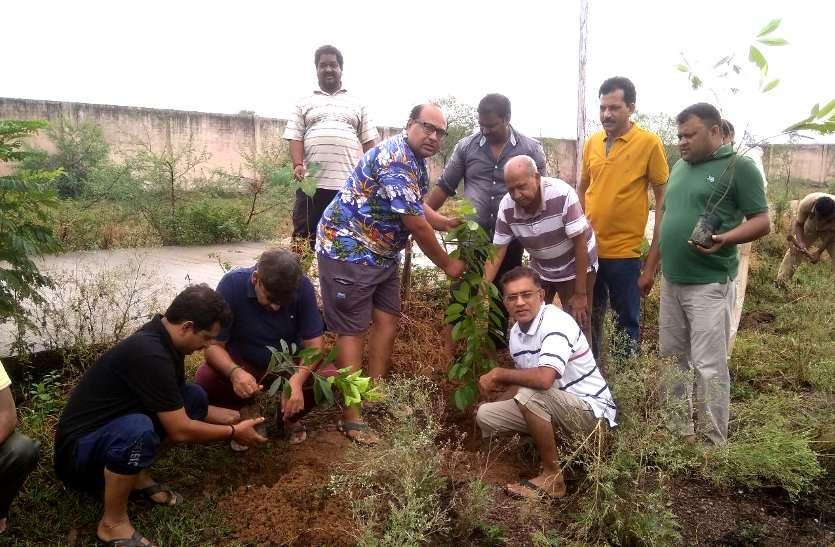 Patrika amritam jalam campaign Bhilai