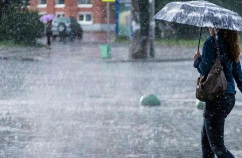monsoon weather: दिन भर बारिश होने लगी रही आस , बिना बरसे उड़ गए बादल