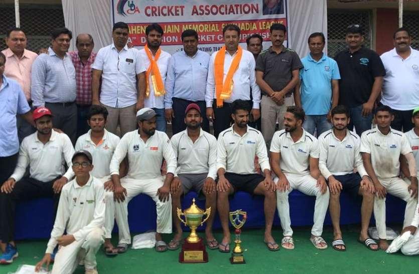 यंग टैलेंट को तीन विकेट से हराकर अरावली क्लब चैम्पियन