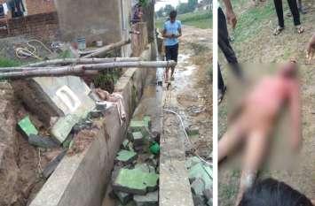निगम के स्वच्छ भारत मिशन शौचालय में शौच करने घुसा था व्यक्ति, अचानक हुआ ऐसा हादसा कि बाहर आई लाश