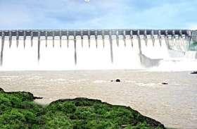 गुजरात के बांधों में 13 फीसदी बचा पानी