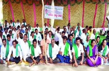किसानों का विरोध प्रदर्शन जारी