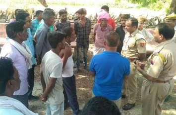 कोटा में आधी रात युवक की नृशंस हत्या, तलवारें-गंडासों से काट सड़क पर फेंक गए खून से सनी लाश