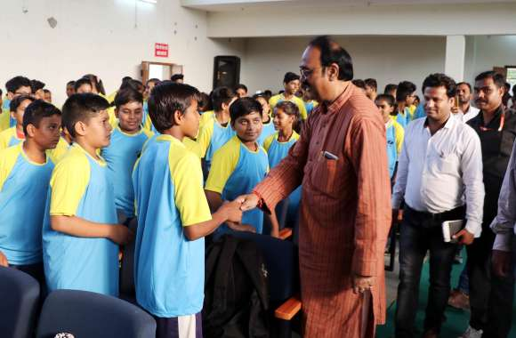 विद्यार्थी अपने भविष्य के निर्माता स्वयं , विधानसभा अध्यक्ष प्र्रजापति